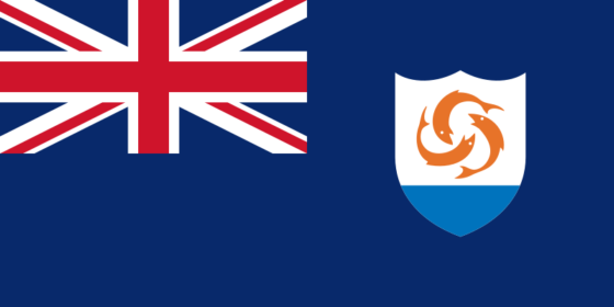 Flag of Anguilla - (UK overseas territory) - All Flags ORG