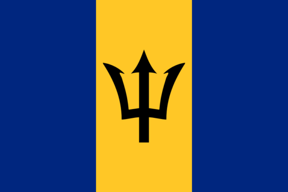 Flag of Barbados - All Flags ORG