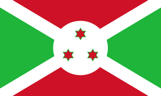 Flag of Burundi - Republic of Burundi - All Flags ORG
