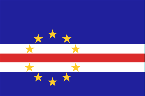 Flag of Cape Verde - Republic of Cape Verde - All Flags ORG