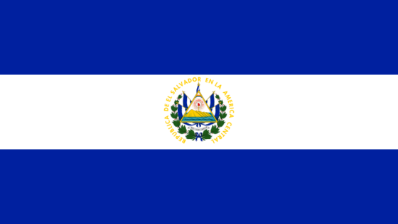 Flag of El Salvador - Republic of El Salvador - All Flags ORG