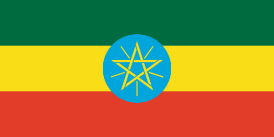 Flag of Ethiopia - Federal Democratic Republic of Ethiopia - All Flags ORG