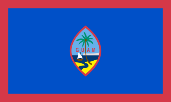 Flag of Guam - Territory of Guam (US organized territory) - All Flags ORG