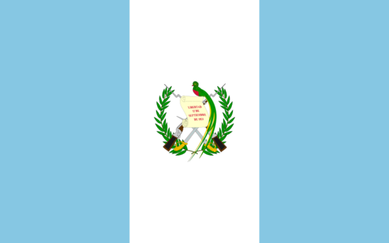 Flag of Guatemala - Republic of Guatemala - All Flags ORG
