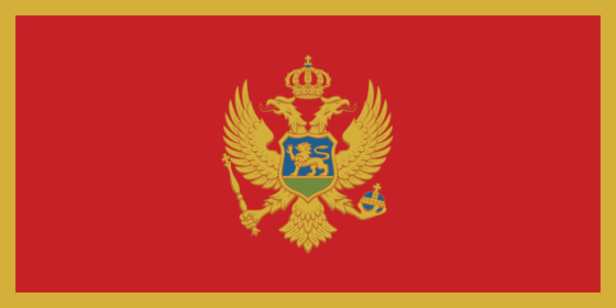 Flag of Montenegro - All Flags ORG
