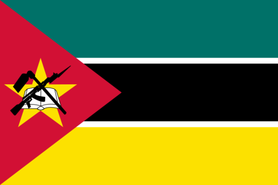 Flag of Mozambique - Republic of Mozambique - All Flags ORG