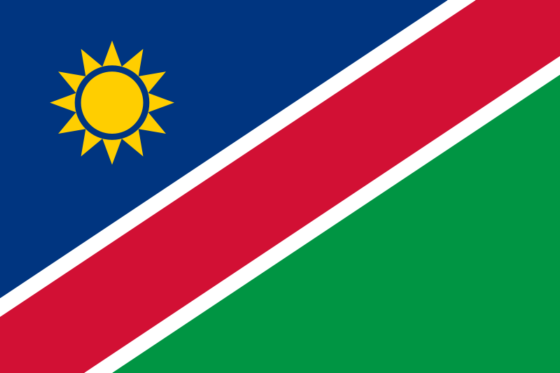 Flag of Namibia - Republic of Namibia - All Flags ORG