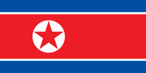Flag of North Korea - Democratic People's Republic of Korea - All Flags ORG