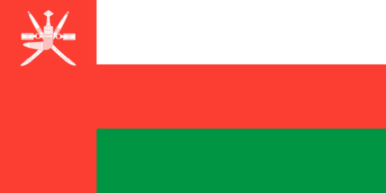 Flag of Oman - Sultanate of Oman - All Flags ORG