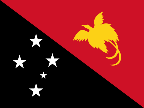 Flag of Papua New Guinea - Independent State of Papua New Guinea - All Flags ORG