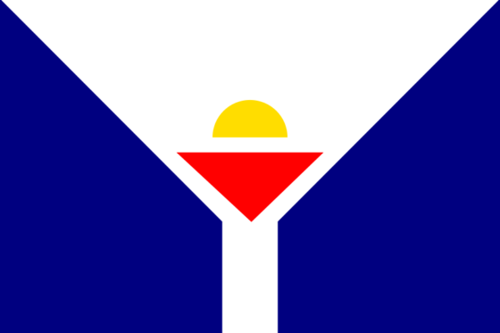 Flag of Saint Martin - Collectivity of Saint Martin (French overseas collectivity) - All Flags ORG