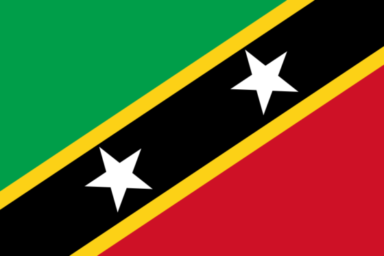 Flag of Saint Kitts and Nevis - Federation of Saint Christopher and Nevis - All Flags ORG