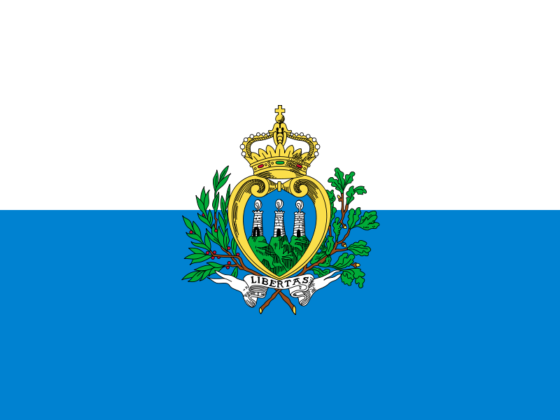 Flag of San Marino - Most Serene Republic of San Marino - All Flags ORG