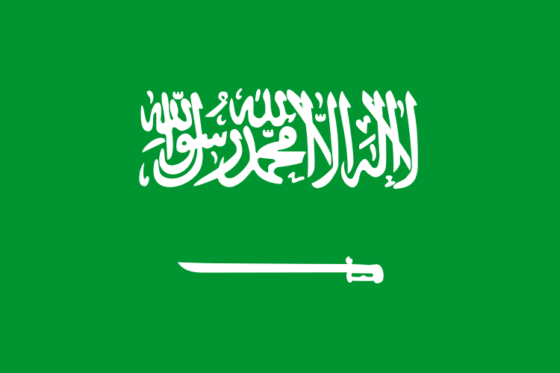 Flag of Saudi Arabia - Kingdom of Saudi Arabia - All Flags ORG