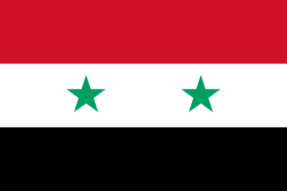 Flag of Syria - Syrian Arab Republic - All Flags ORG