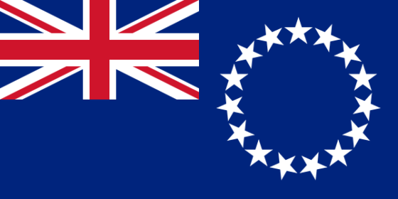 Flag of the Cook Islands - (Associated state of New Zealand) - All Flags ORG