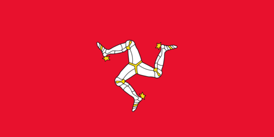 Flag of the Isle of Man - (British Crown dependency) - All Flags ORG