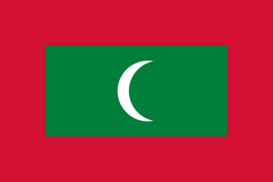 Flag of the Maldives - Republic of Maldives - All Flags ORG