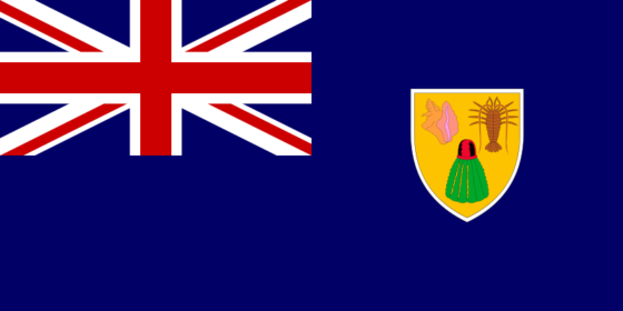 Flag of the Turks and Caicos Islands - (UK overseas territory) - All Flags ORG