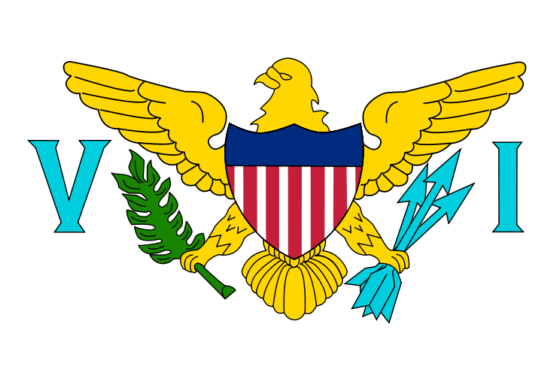 Flag of the Virgin Islands, United States - United States Virgin Islands (US organized territory) - All Flags ORG