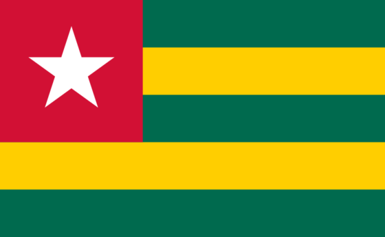 Flag of Togo - Togolese Republic - All Flags ORG