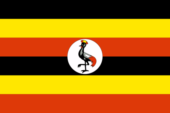 Flag of Uganda - Republic of Uganda - All Flags ORG