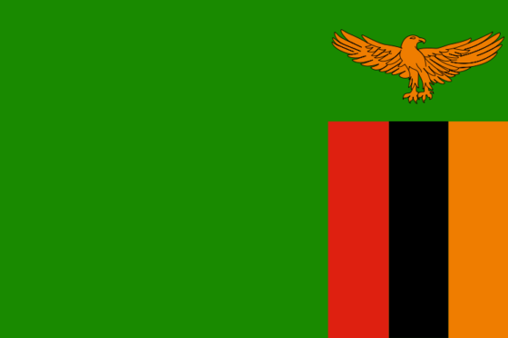 Flag of Zambia - Republic of Zambia - All Flags ORG
