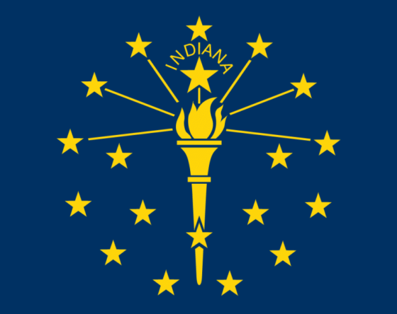 State Flag of Indiana - All Flags ORG